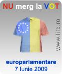 Eu nu merg la vot pe 7 Iunie 2009