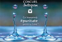 Concurs Instagram Aqua Carpatica: Ce inseamna puritate pentru tine?