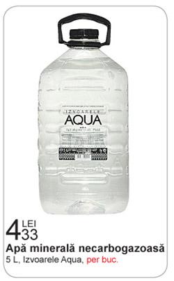 Apa minerala plata Izvoarele Aqua