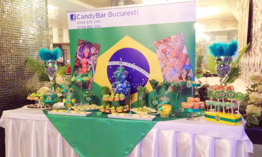 Candy Bar cu tema carnaval