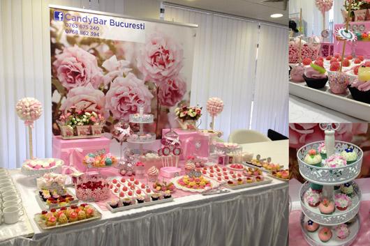 Candy Bar cu tema<br /> florala