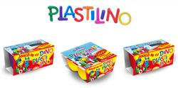 Branzica Danonino din campania Dino Plastilino