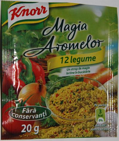 Knorr Magia Aromelor 12 legume