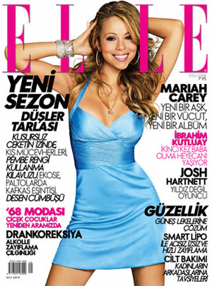 Coperta revistei Elle Turcia, Septembrie 2008