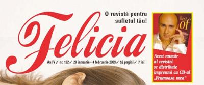 CD Marcel Pavel cadou la revista Felicia