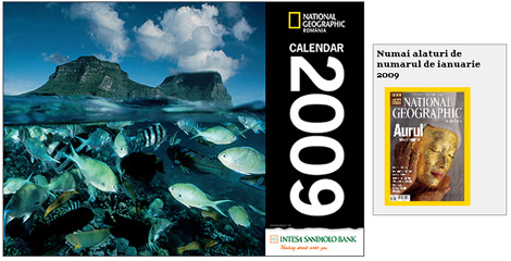 Calendarul National Geographic 2009