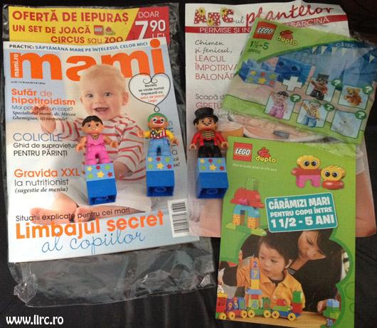 Revista MAMI si cadou setul de joaca Lego Duplo, editia Mai 2013