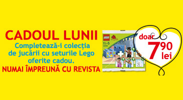 Revista MAMI si setul Lego Duplo