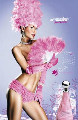 Reviste cu cadouri Ianuarie 2011 (poza din Calendarul Simoni Racing 2011)
