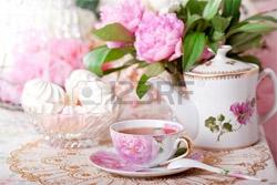 O cana cu ceai in stilul Shabby Chic