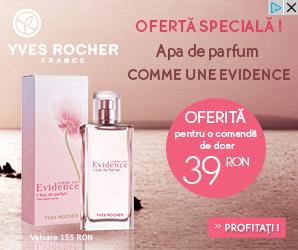 Oferta Yves Rocher cu parfum COMME UN EVIDENCE
