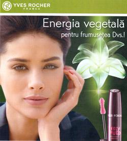 Yves Rocher France Brosura Energie Vegetala pentru Frumusetea Dvs. - Primavara 2014
