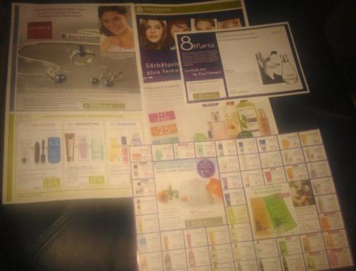 Catalog Yves Rocher cu oferte pentru Ziua Femeii 2014