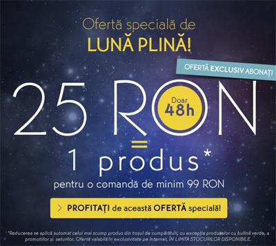 Oferta Yves Rocher pentru Luna Plina, Septembrie 2014