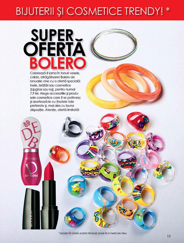 Promo cadouri in Bolero de Ianuarie 2011