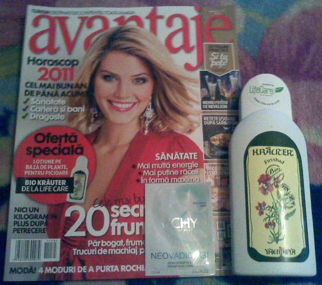 Avantaje ~~ Cadou Life Care si insert Vichy ~~ Ianuarie 2011