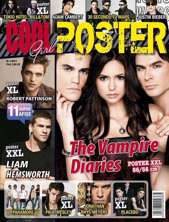 Cool Girl Poster ~~ Suplimentul revistei Cool Girl ~~ Numarul 1 ~~ 2011
