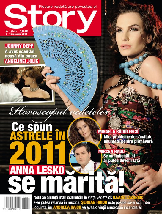 Story ~~ Coperta: Anna Lesko ~~ 3 Ianuarie 2011