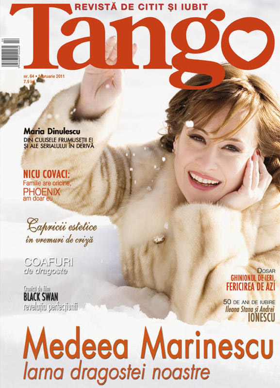 Tango ~~ Coperta: Medeea Marinescu ~~ Februarie 2011