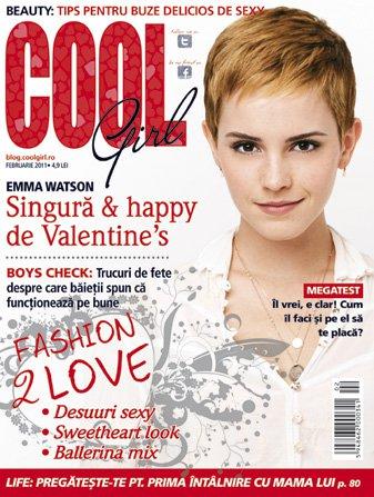 Cool Girl ~~ Cover girl: Emma Watson ~~ Februarie 2011