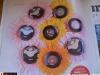 Detaliu din promo-ul Unica: culorile disponibile pentru fardurile de pleoape de la Deborah Milano ~~ Februarie 2011