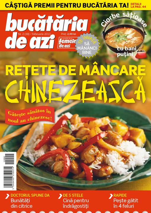 Bucataria de azi ~~ Retete de mancare chinezeasca ~~ Februarie 2011
