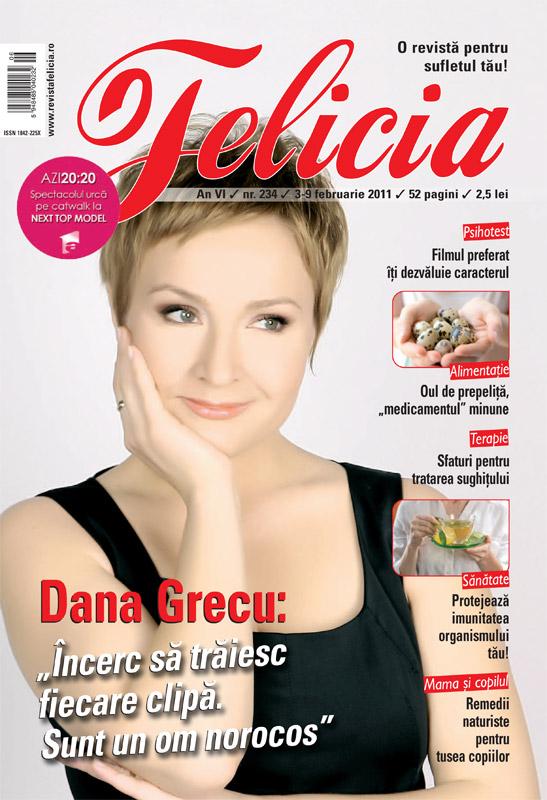 Felicia ~~ Coperta: Dana Grecu ~~ 3 Februarie 2011