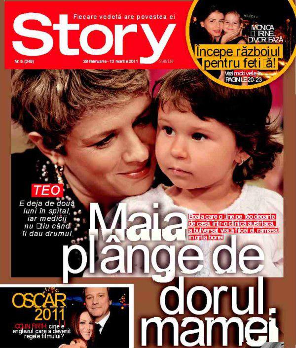 Story ~~ Coperta: Teo Trandafir si Maia ~~ 28 Februarie 2011