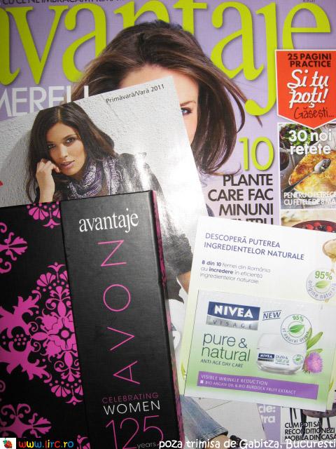 avantaje ~~ Cadou si inserturi ~~ Martie 2011