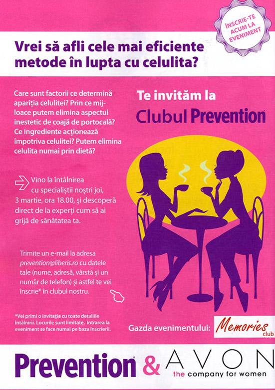 Prevention Club ~~ Martie 2011