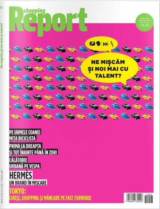 Shopping Report ~~ Ne miscam si noi mai cu talent? ~~ Martie 2011