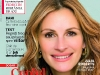 Psychologies Romania ~~ Cover girl: Julia Roberts ~~ Martie 2011