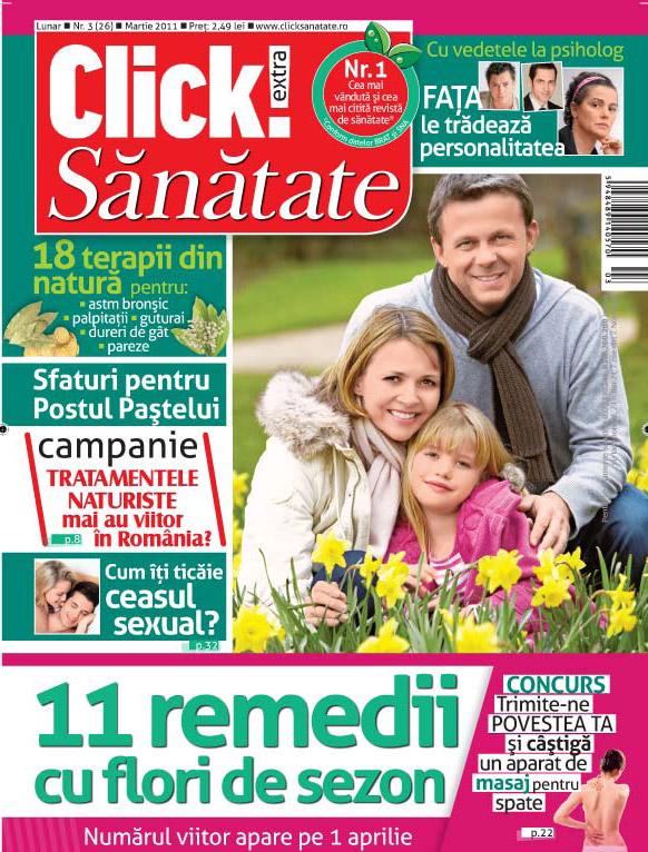 Click Sanatate ~~ Martie 2011
