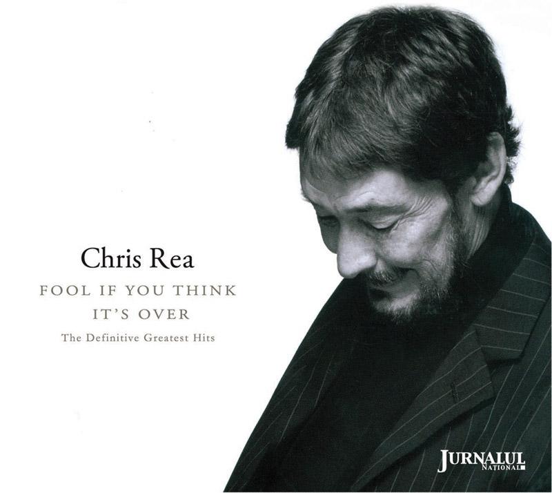 Coperta CD-ului Chris Rea ~~ Fool if you think is over ~~ impreuna cu revista Felicia din 10 Martie 2011