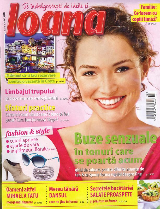 Ioana ~~ numarul 7 ~~ 24 Martie 2011