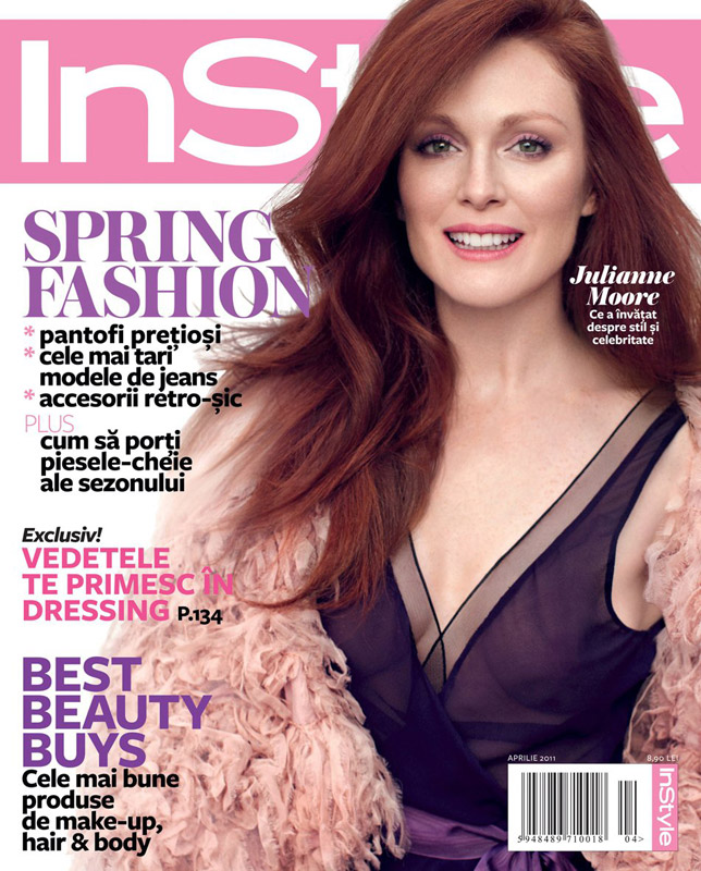 InStyle Romania ~~ Cover girl: Julianne Moore ~~ Aprilie 2011