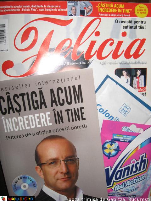 Felicia ~~ Carte si inserturi ~~ 22 Aprilie 2011