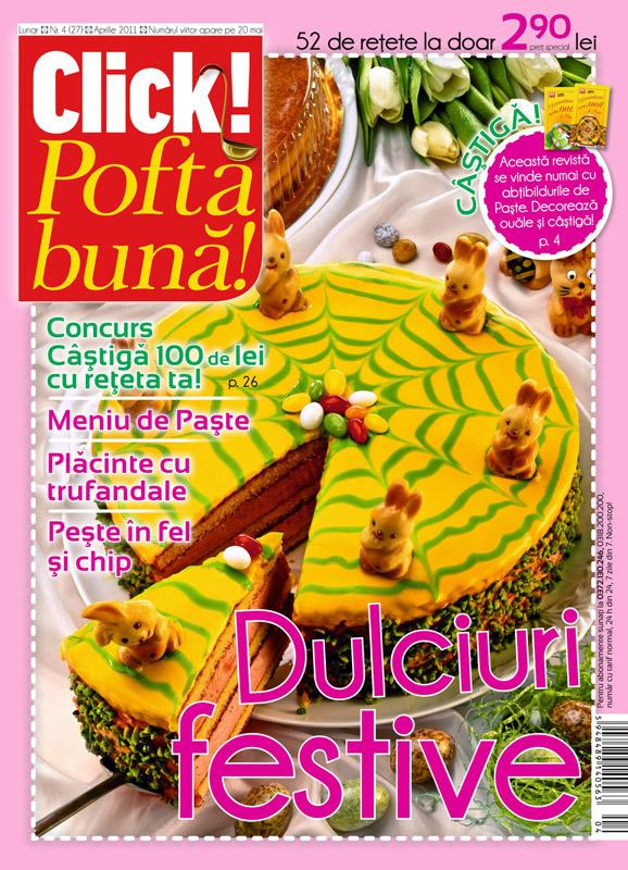 Click Pofta Buna ~~ Dulciuri festive ~~ Aprilie 2011