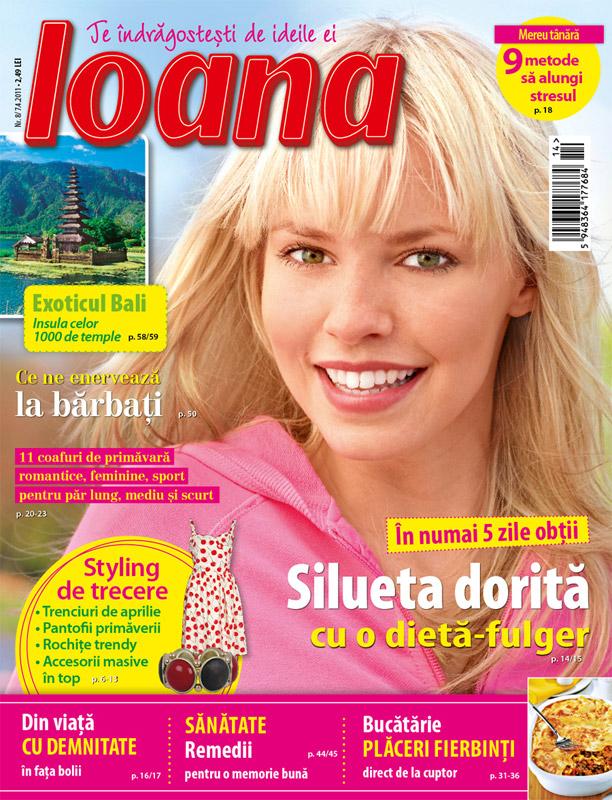 Ioana ~~ numarul 8 ~~ 7 Aprilie 2011