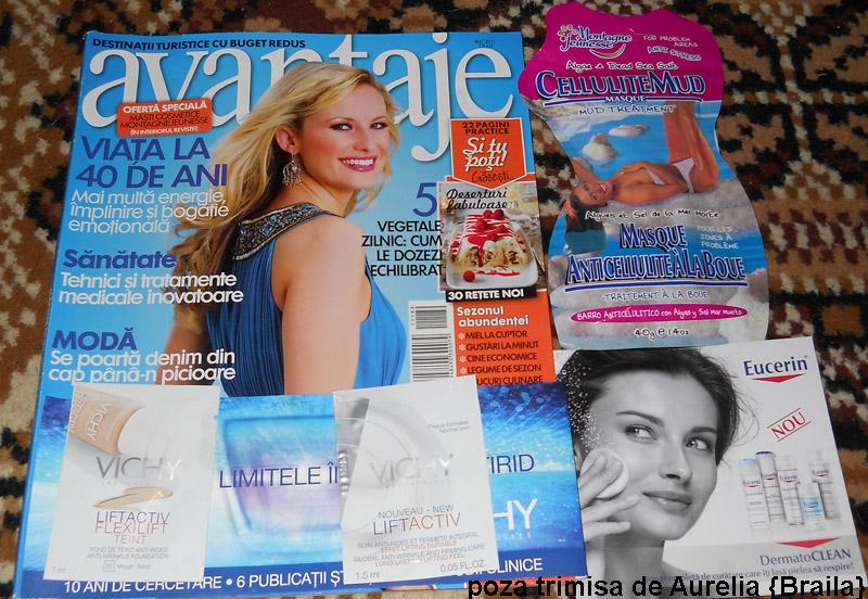 Avantaje ~~ cadou si inserturi ~~ Mai 2011