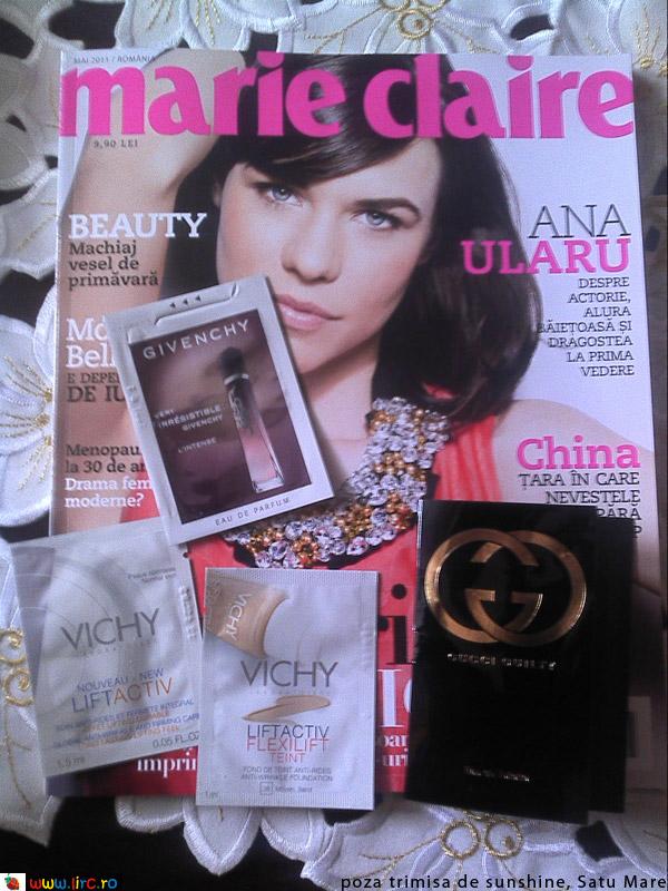 Marie Claire ~~ Inserturi ~~ Mai 2011
