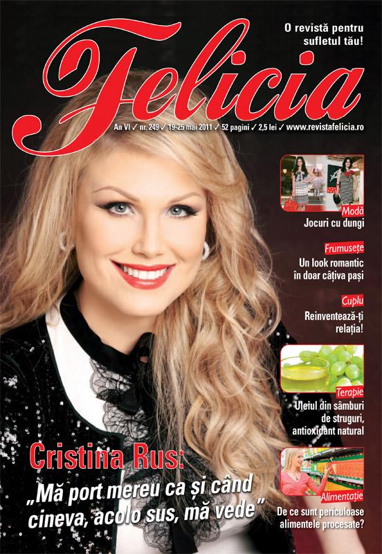Felicia ~~ Coperta: Cristina Rus ~~ 19 Mai 2011