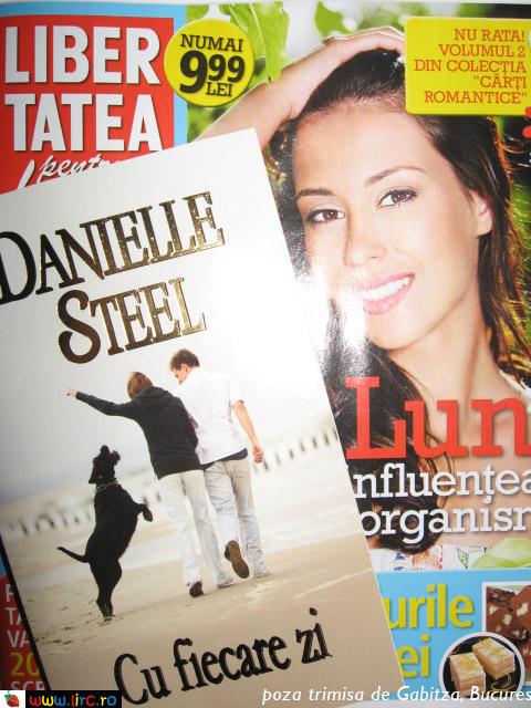 Libertatea pentru femei si cartea CU FIECARE ZI, de Danielle Steel ~~ 30 Mai 2011