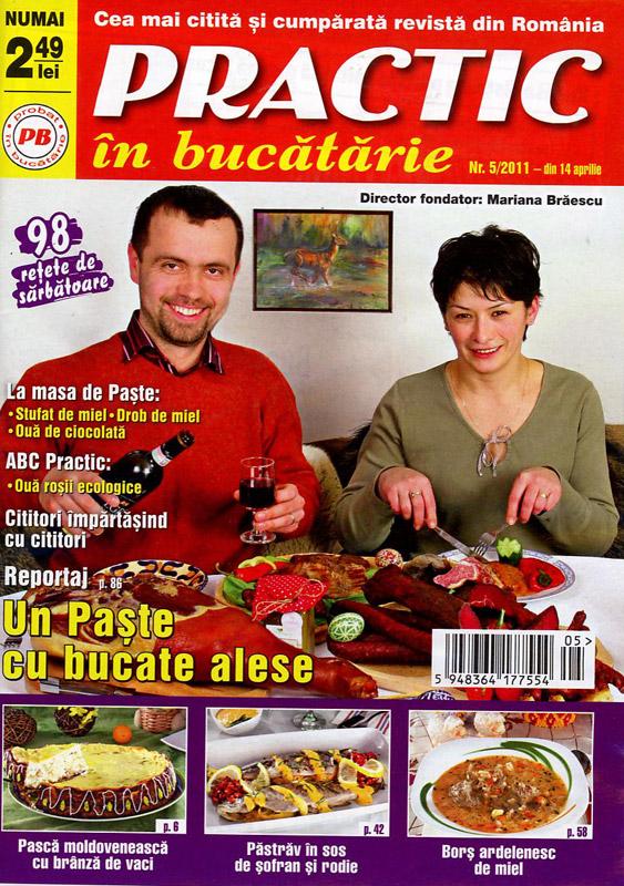 Practic in bucatarie ~~ nr.5/2011 ~~ Mai 2011