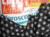 Esarfa neagra cu buline albe, cadoul revistei Click! pentru femei din 27 Mai 2011