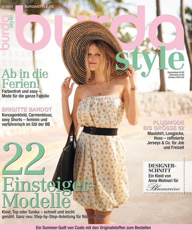 Burda Style ~~ Iunie 2011