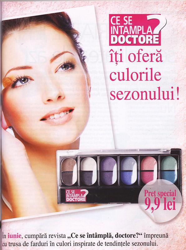Promo farduri pentru ochi, cadoul CSID editia de Iunie 2011