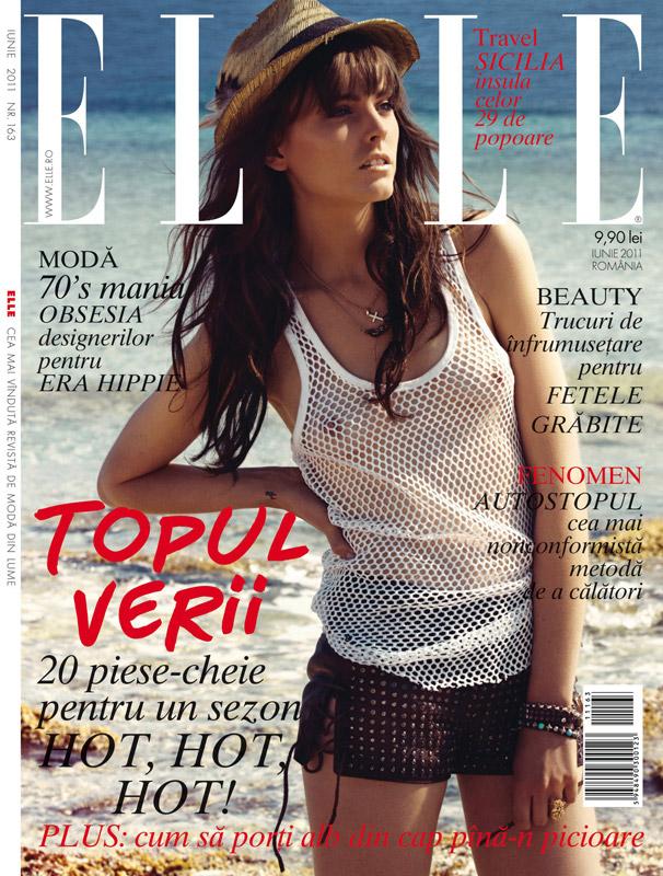 ELLE Romania ~~ Iunie 2011