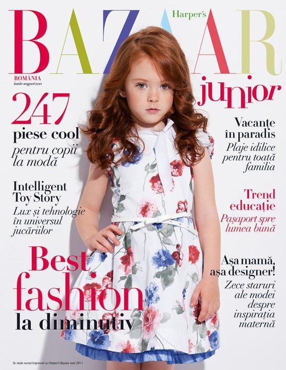 Harper\'s Bazaar Junior ~~ Editia de vara Iunie-August 2011