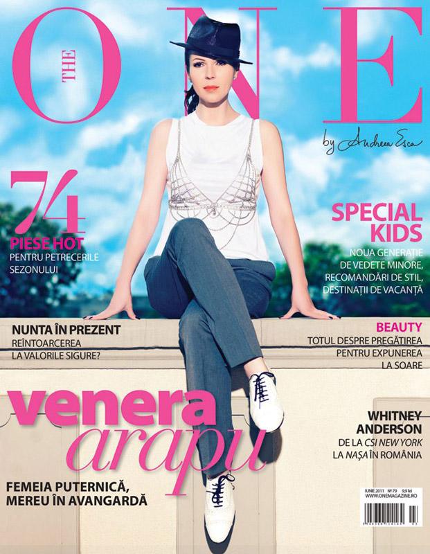 The One ~~ Coperta: Venera Arapu ~~ Iunie 2011